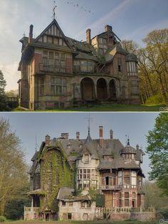 Agatha Faversham's haunted house. Abandoned.