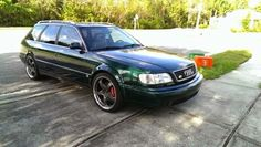 Daily Turismo: 8k: Mean Green Mother from Outer Space: 1995 Audi Ur-S6 Avant