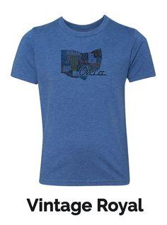 Youth Crew Neck T-Shirt - Ohio