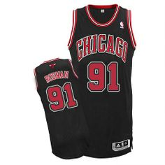 266f2fac6dfe Dennis Rodman jersey-Buy 100% official Adidas Dennis Rodman Men s Authentic  Black Jersey NBA Chicago Bulls  91 Alternate Free Shipping.