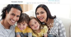 #sesamewebdesign #psds #dental #responsive #top-menu #full-width #sans #texture #clean