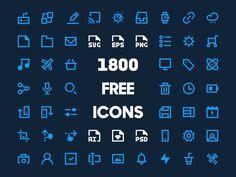 [Ressources] : 1800 icônes minimalistes 20x20 gratuites