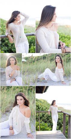 senior portraits, beach senior portraits, florida senior portrait and lifestyle photography