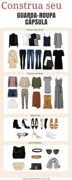 Como viver três meses tendo no guarda-roupa apenas 40 itens entre roupas e sapatos?