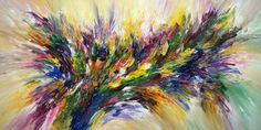 "Very large abstract painting. Modern Art. Saatchi Art Artist Peter Nottrott; Painting, ""Springtime Impressions XXL 1"" #art"