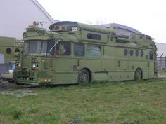What about this? Saviem bus, spotted near Toulouse, has been use as a sound system in rave parties...