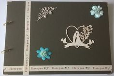 Album ślubny (kremowe róże) – Albumy ręcznie robione