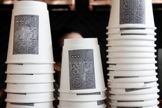 Stamp designs for Kit & Ace's Sorry Coffee Co in TorontoPhotography by Warren Keefe ( www.warrenkeefe.com )