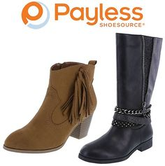 BOGO 50% Off Sale + Up to 75% Off Clearance Sale + Extra 10% Off: For a limited time, Payless is offering BOGO 50% Off… #coupons #discounts