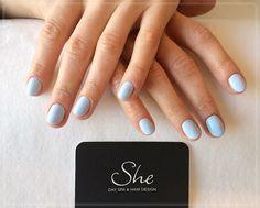 Kolejny manicure spod znaku She. Co powiecie na taki pastelowy odcień? #manicure #nails #paznokcie