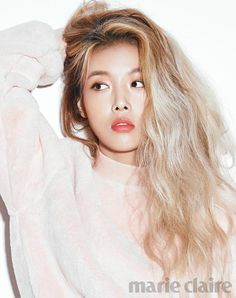 asian girls with light hair doesn't have the same ring to it