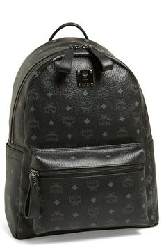 c1d16a850b33 MCM Coated Canvas Backpack available at  Nordstrom Canvas Backpack
