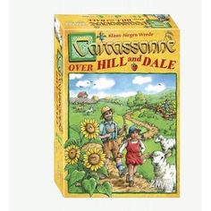 Z-Man Carcassonne Over Hill and Dale Board Game Diana, Game Storage, Tabletop Games, News Games, Pet Care, Card Games, Childrens Books, Baseball Cards, Handmade