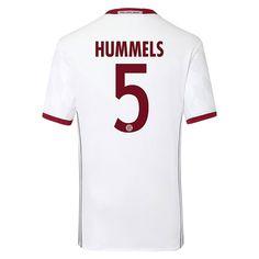 Bayern Munchen 2016/17 3RD Away Men Soccer Jersey HUMMELS #5