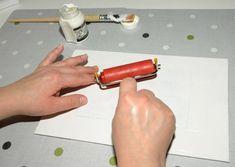 Přenést vlastní fotografii na plátno je jednoduché! | Davona výtvarné návody Rolling Pin, Origami, Pictures, Origami Paper, Origami Art
