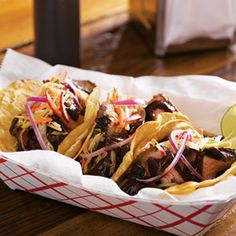 ASIAN BBQ BEEF TACOS