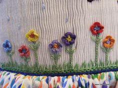 cast on flowers