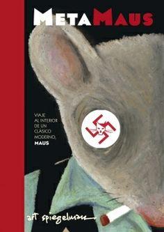 """Se publica MetaMaus de Art Spiegelman, para explicar cómo y por qué creó MAUS. Hilos de arena. 18/12/2012. """"La célebre obra MAUS de Art Spiegelman cambió para siempre el mundo del cómic al contar la historia de sus propios padres, supervivientes del campo de concentración de Auschwitz en forma de tebeo"""" #Blogs #Bbtk"""