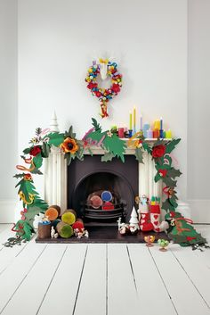 Etsy Kitsch Christmas. Styling by Knot & Pop