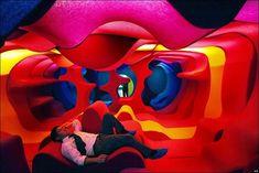 Interior Architecture, Interior And Exterior, Hippie House, Retro Interior Design, Retro Futurism, Cool Rooms, Contemporary Furniture, Hard Rock, Event Design