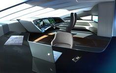 40m Porsche Design Catamaran Yacht - Cockpit - Google Search