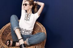 Camille Rowe for Madewell