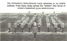 1935-36 UO University Band (Oregon Athletic Band-OAB).  From the 1936 Oregana (University of Oregon yearbook).  www.CampusAttic.com