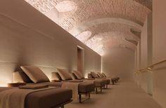Four Seasons   Spa Interior Design by Patricia Urquiola four seasons luxurios spa pool area