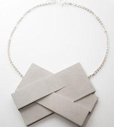 Bergner Schmidt - Concrete jewellery