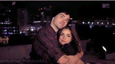Ian Harding and Lucy Hale