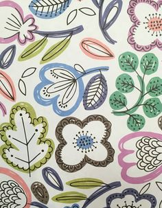 Print & Pattern Blog : Paperchase Textile Pattern Design, Surface Pattern Design, Textile Patterns, Curtain Patterns, Paperchase, Cute Wallpaper Backgrounds, Pretty Patterns, Kids Prints, Painting Patterns