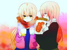 Nekomura and Luka <3