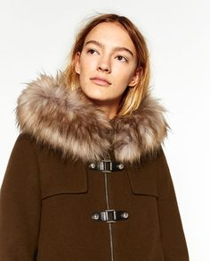 ZARA - WOMAN - A-LINE DUFFLE COAT