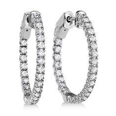 Uniquepedia.com - Prong-Set Diamond Hoop Earrings in 14k White Gold (1.00ct), $1,550.00 (http://www.uniquepedia.com/prong-set-diamond-hoop-earrings-in-14k-white-gold-1-00ct/)