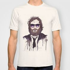 Joaquin Phoenix T-shirt by Jesse Robinson Williams - $22.00