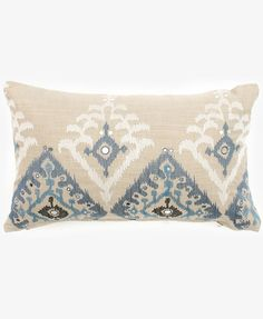 BUKHARA BLUE PILLOW