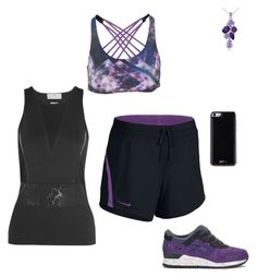 """""""Untitled #3684"""" by gone-girl ❤ liked on Polyvore featuring Onzie, adidas, NIKE, Asics, Glitzy Rocks and Gooey"""