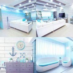 Beach inspired room
