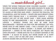 matchbook girl