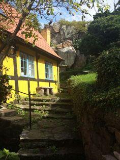 Haus in Gudhjem, Bornholm