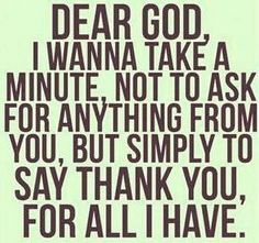 I am so blessed in all the ways it really matters.  Thanks for all the blessings!