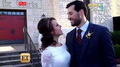Jinger and Jeremy's woodland wedding Duggar Wedding, Jinger Duggar, Derick Dillard, Jeremy Vuolo, Dugger Family, 19 Kids And Counting, Reality Tv Shows, First Kiss, Woodland Wedding