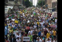 Manifestações: a sociedade se anima e começa a acreditar em um novo Brasil | #AvenidaPaulista, #DilmaRousseff, #GugaNoblat, #Lula, #Manifestações, #Protestos