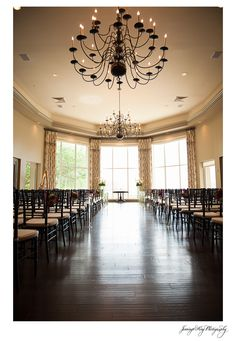 Sea Pines Country Club - Hilton Head, SC | Indoor venue on Hilton Head Island | Ballroom Ceremony | Jennings King Photography | Charleston South Carolina Wedding Photographer