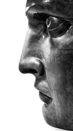 scalesofperception:  Detail of the Statue of Liberty by John Crouch A face that represents the ideals of a nation.  SoP - Scale of Represent...