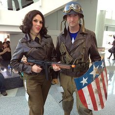 Did Peggy Carter and Captain America ever get their dance?                  Image Source: Instagram user nerdygeographer