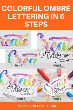 Jun 3, 2019 - Learn to easily blend colors in your lettering in 5 easy steps. Hand Lettering Practice, Hand Lettering Alphabet, Brush Lettering Quotes, Calligraphy Quotes, Letter Blends, Calligraphy For Beginners, Marker Paper, Colored Pencil Techniques, White Gel Pen
