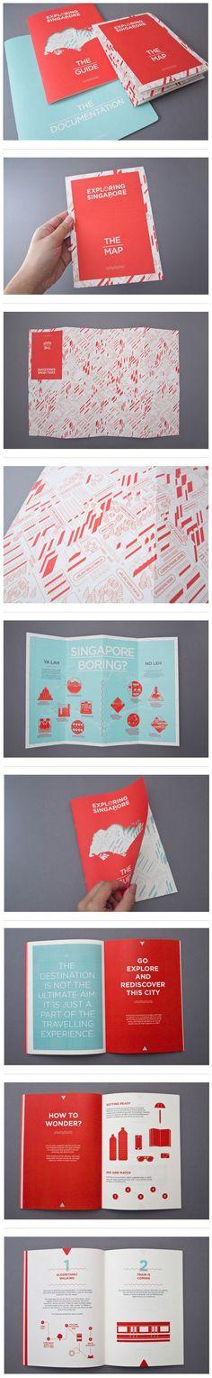 Exploring Singapore on Behance