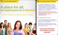 TRAINING / PLACEMENT PROGRAM only @ Technocrat.. Send us the Enquiry to get you back..