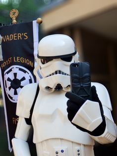 My best selfie...ever. #501st #stormtrooper